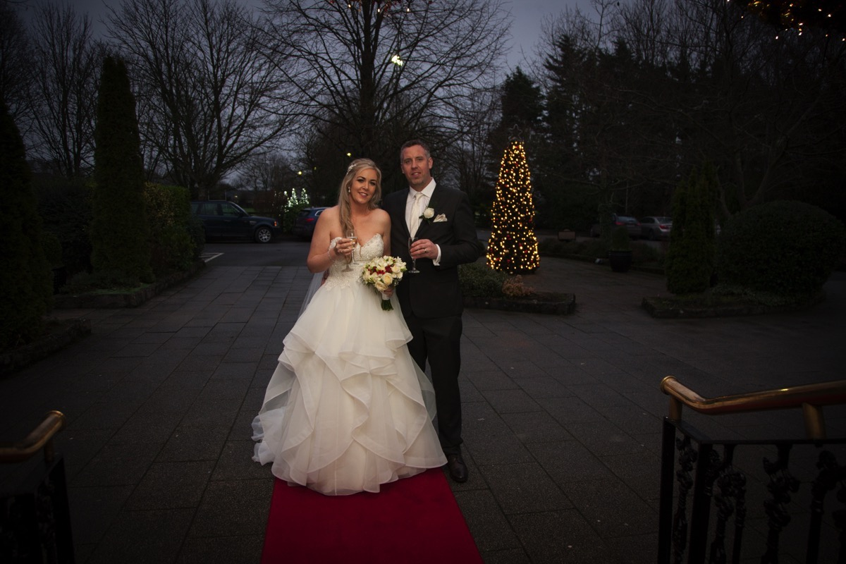 A winter wonderland day at Fitzgerald's Woodlands House Hotel
