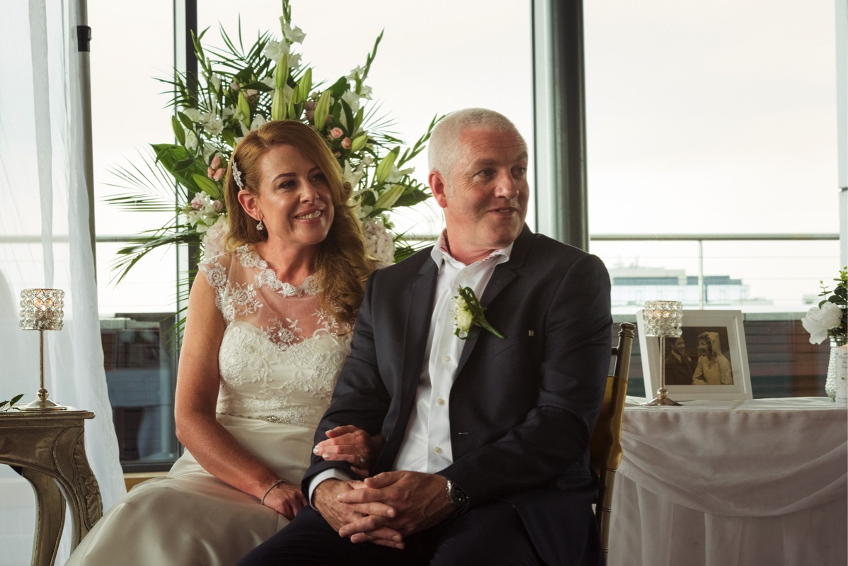 A stunning day at The Strand for Danielle & Brian