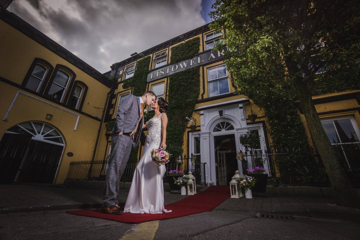 A day of pure joy for Yvonne and Christopher at Listowel Arms Hotel