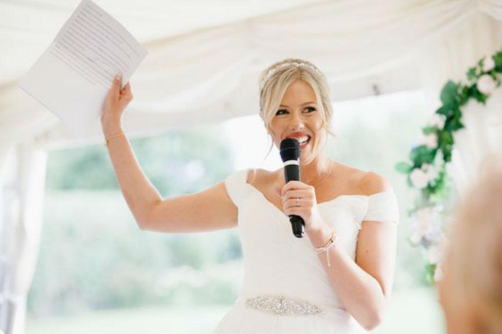 Bridal speeching! Yay or nay?