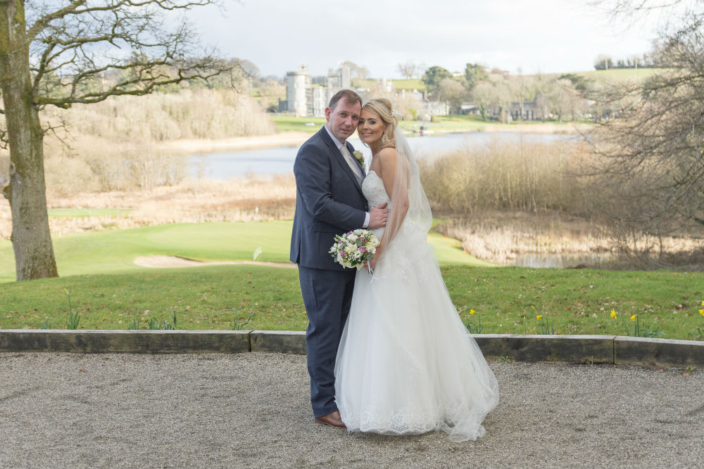 A Christmastime proposal to Sandra and Brian's dream wedding at the Inn at Dromoland