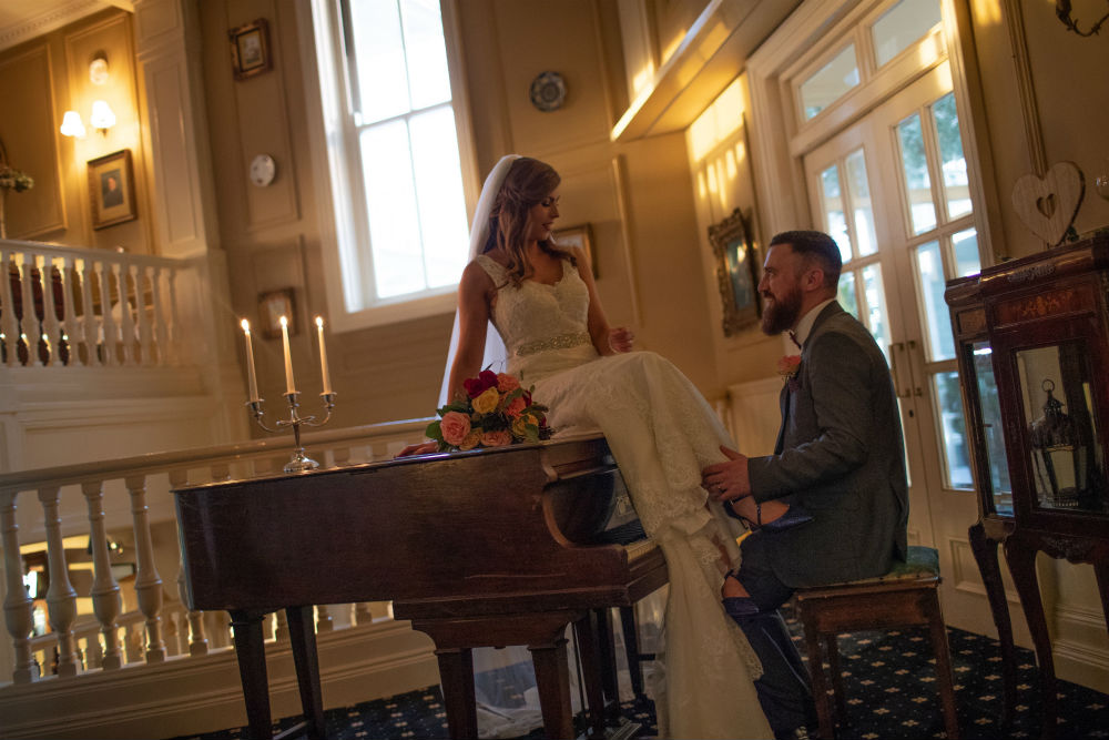 A luxurious Listowel Arms wedding day