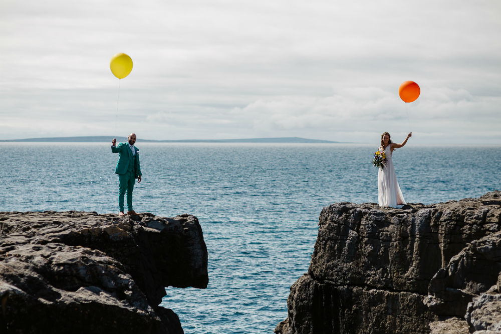 A colourful and creative wedding day for Lena and Ramon