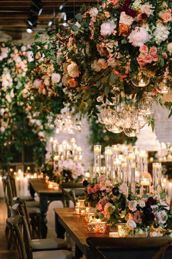 Bring the outside in for your wedding!