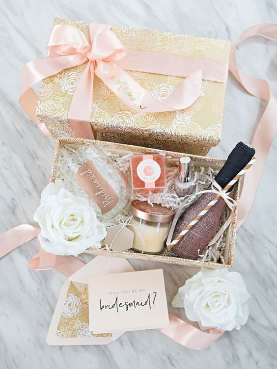 How to create the perfect bridesmaid box