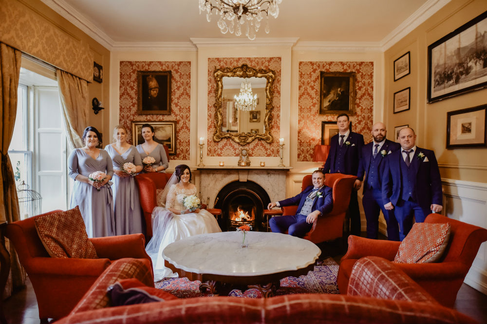 Special personal touches at Listowel Arms for Joanne & Martin