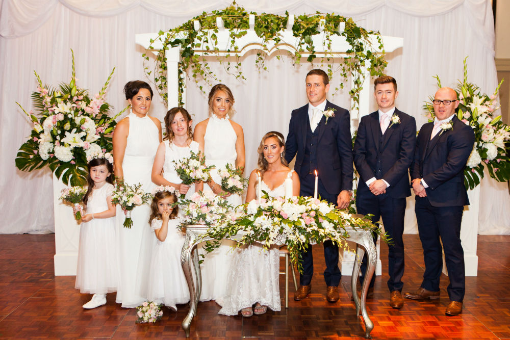 The perfect 'I do' for Amanda & Diarmuid at the Limerick Strand Hotel