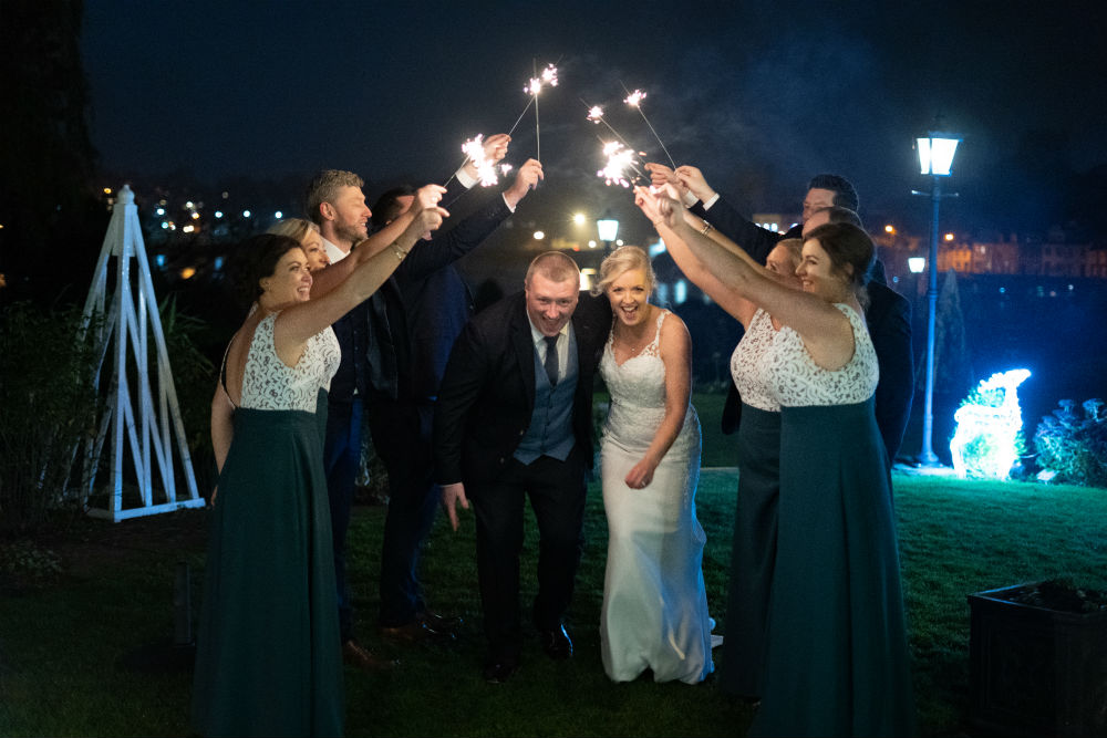 A stunning November wedding at The Lakeside Hotel