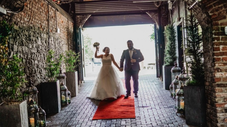 Bespoke Tuscany Bistro wedding at the Granary